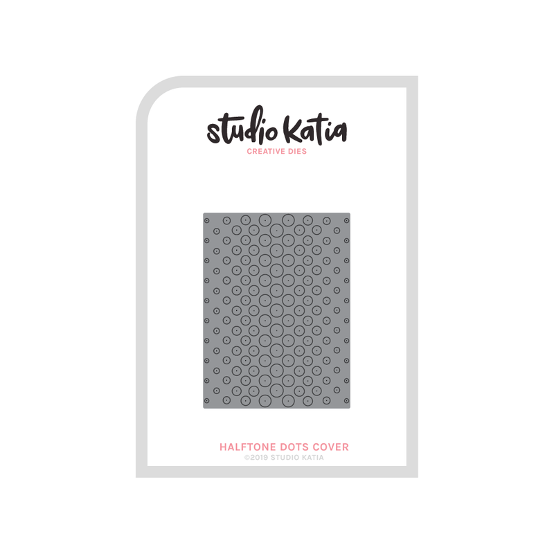 HALFTONE DOTS COVER