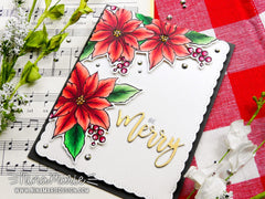 Merry Poinsettia | Clear Stamp Set