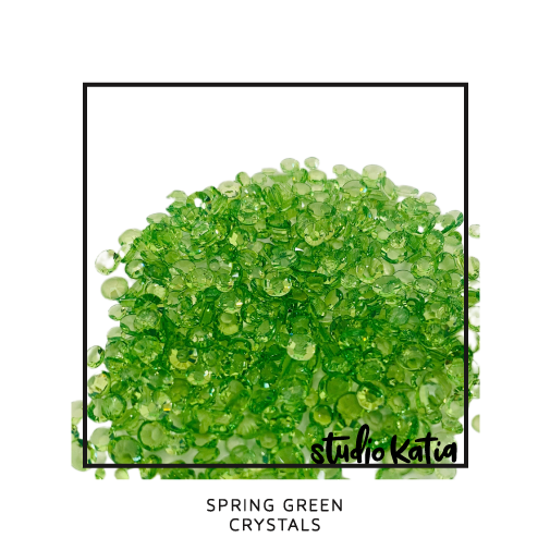 SPRING GREEN CRYSTALS