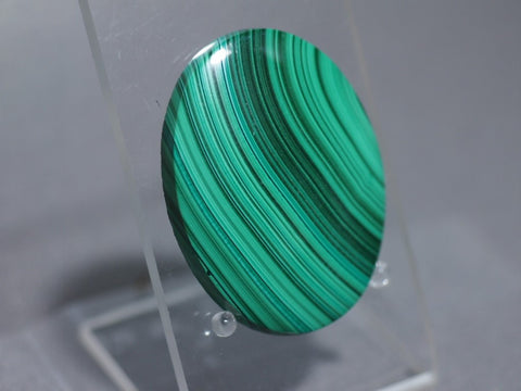 Malachite-Oval-Cabochon|Rock-N-Gem-Jewelry