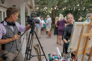 Live Painting at your Wedding or Event