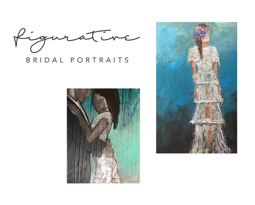 Abstract Figurative Bridal