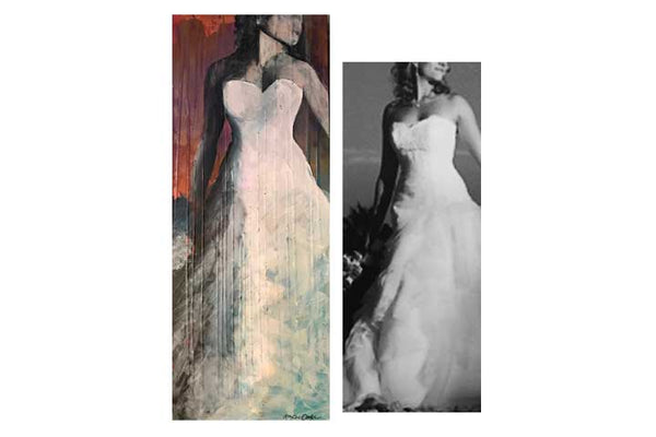 BON-BON Abstract Bridal