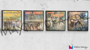 Mixed Media Album Art DESKTOP Digital Art Download