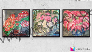 Anthos Floral Trio 2 DESKTOP Digital Art Download