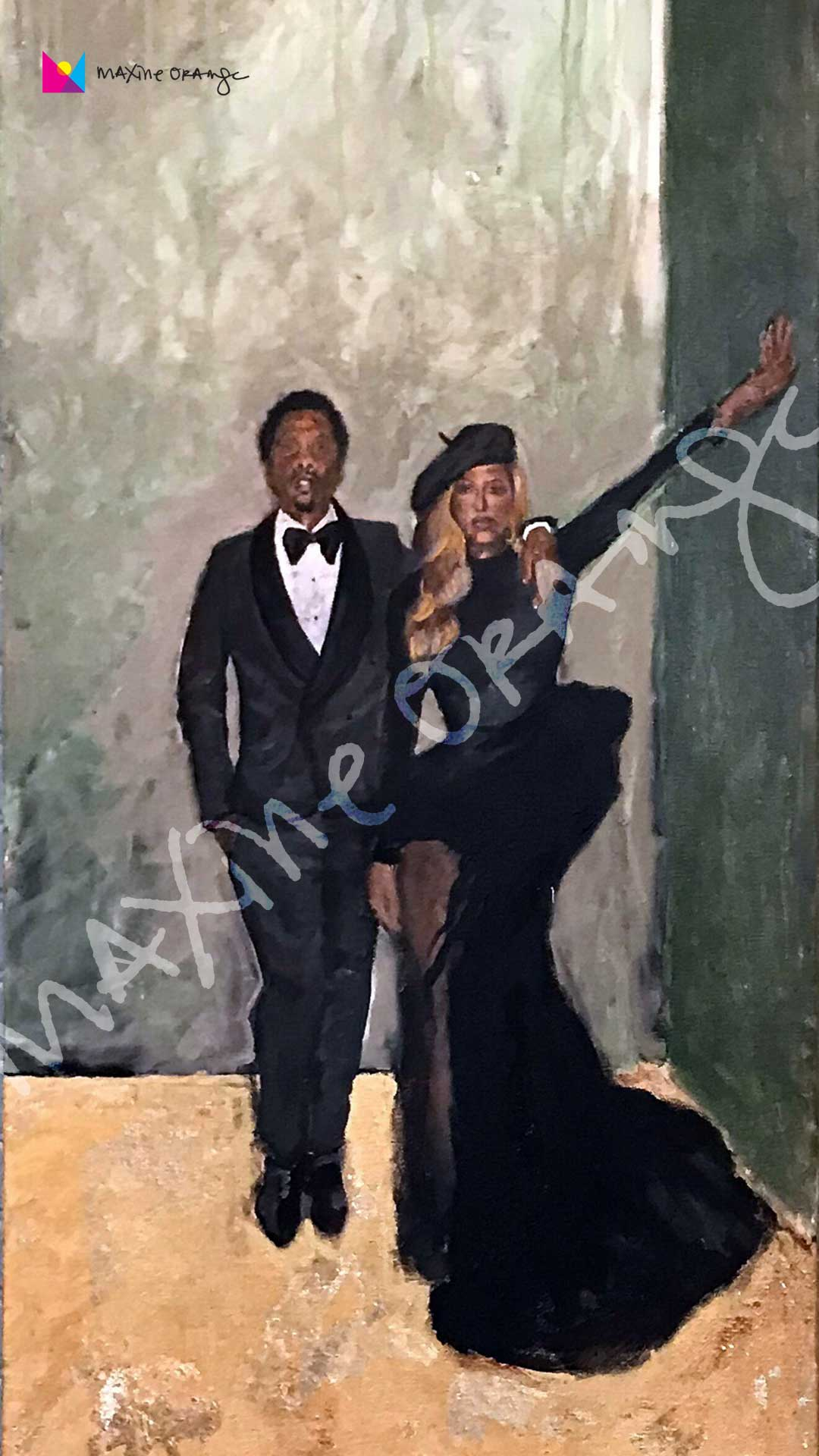 Bey & Jay MOBILE Digital Art Download