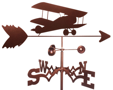 BI-Wing Airplane Design Weathervane
