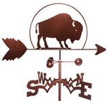 Buffalo Design Weathervane