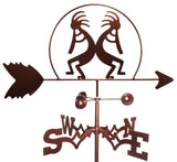 Kokopelli Southwest Weathervane
