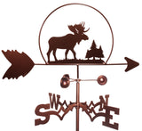 Moose with Pines Weathervane