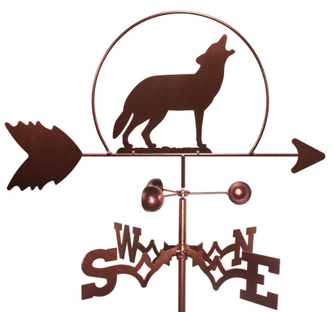 Wolf Design Weathervane