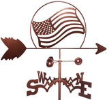 American Flag Design Weathervane