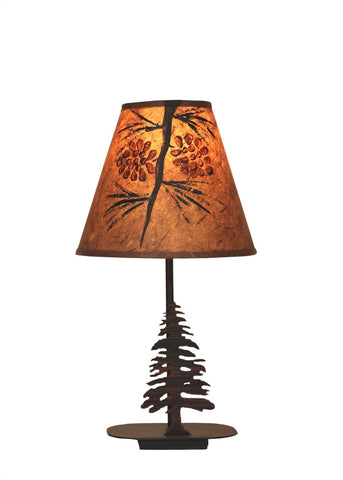 Mini Pine Tree Design Table Lamp