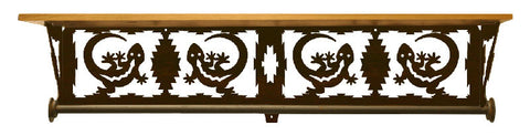 "Gecko Design 34"" Towel Bar Shelf"
