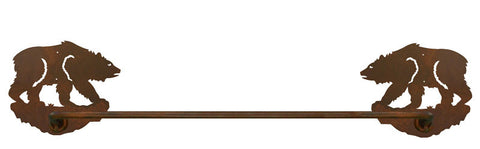 "Brown Bear 27"" Towel Bar"