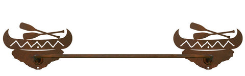 "Canoe Design 27"" Towel Bar"
