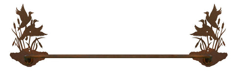 "Duck with Cattails 27"" Towel Bar"
