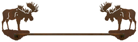 "Bull Moose 27"" Towel Bar"