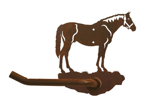 Bay Horse Design Tissue Holder