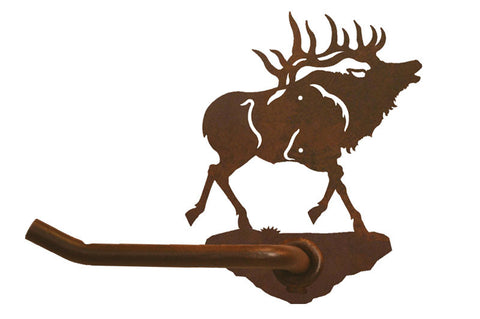 Bull Elk Design Tissue Holder