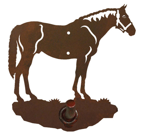 Bay Horse Design Robe Hook