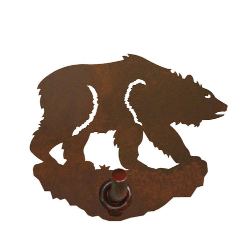 Brown Bear Design Robe Hook