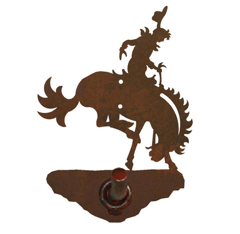 Bucking Bronco Design Robe Hook