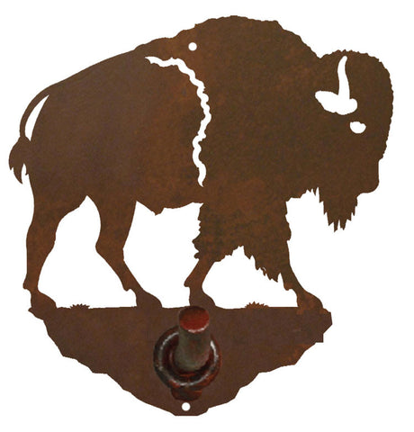 Buffalo Design Robe Hook