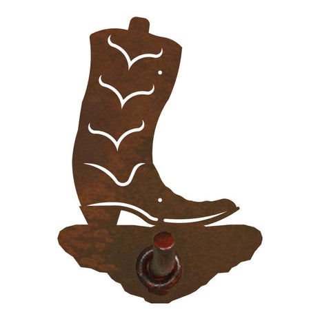 Cowboy Boot Design Robe Hook