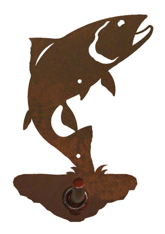 Trout Design Robe Hook