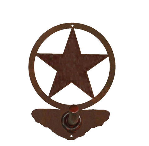 Texas Star Design Robe Hook