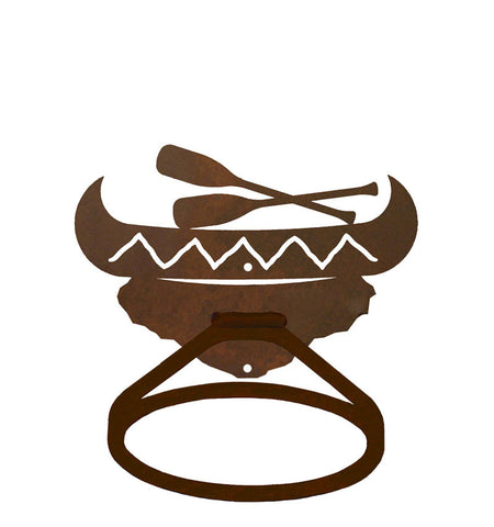 Canoe Design Towel Ring