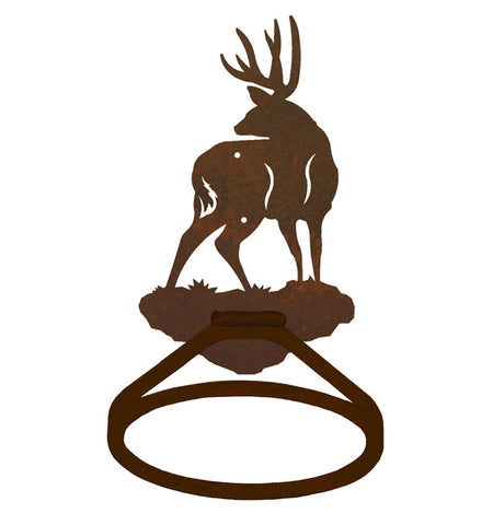Mule Deer Towel Ring