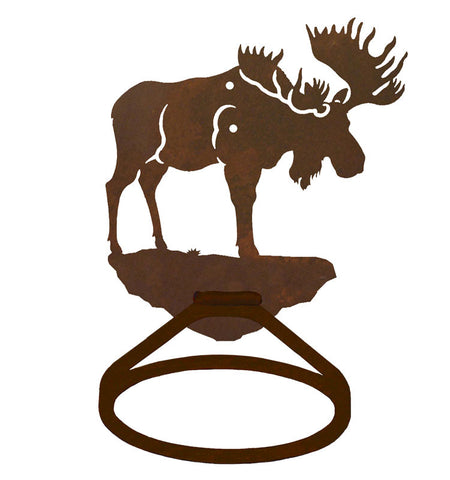 Bull Moose Towel Ring