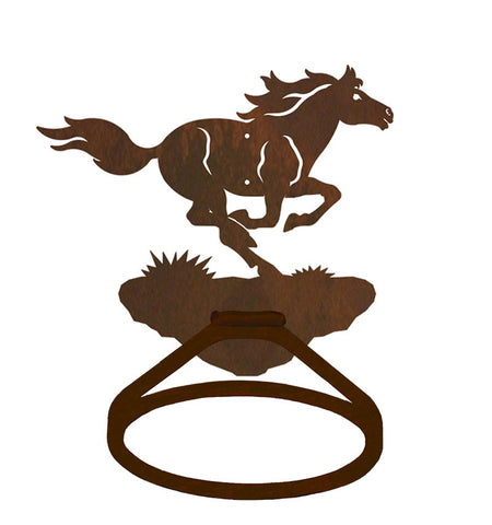 Wild Horse Towel Ring