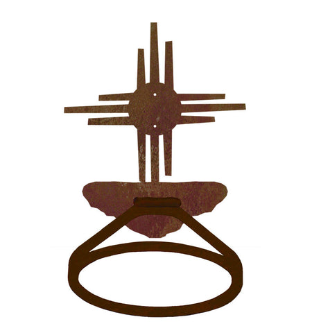 New Mexico Sun Towel Ring
