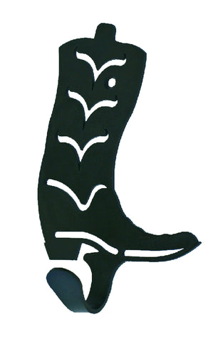 Cowboy Boot Design Single Metal Wall Hook