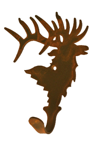 Elk Single Metal Wall Hook