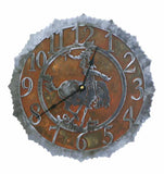 Bronc / Cowboy Design Metal Wall Clock