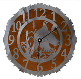 Pheasant Design Metal Wall Clock