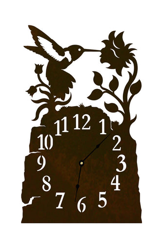 Hummingbird Table Clock
