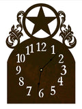Texas Star Table Clock