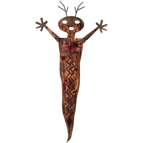 Alien Shaman Southwest Metal Wall Art