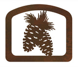 Pine Cone Metal Napkin Holder