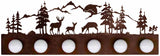Deer Family 4 or 6 Bathroom Vanity Light