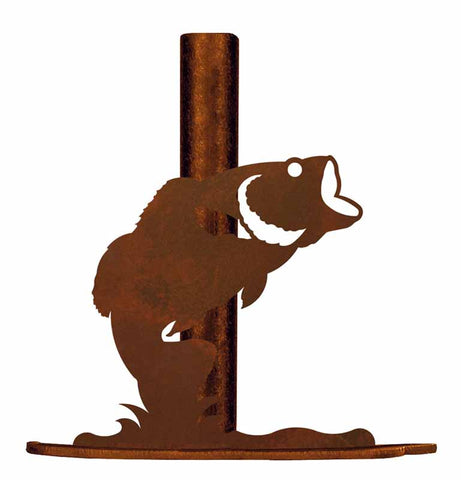 Bass Design Metal Paper Towel Holder