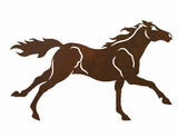 "Running Horse 20"" Rustic Metal Decor"