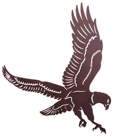 "Flying Eagle 30"" Metal Wall Art"