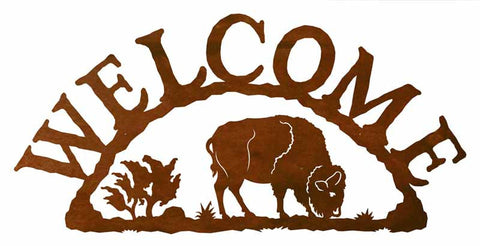 Buffalo Welcome Sign