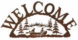 Canoe Welcome Sign